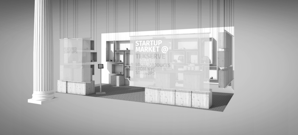 New York pop up  - Featuring NY StartUps. More..