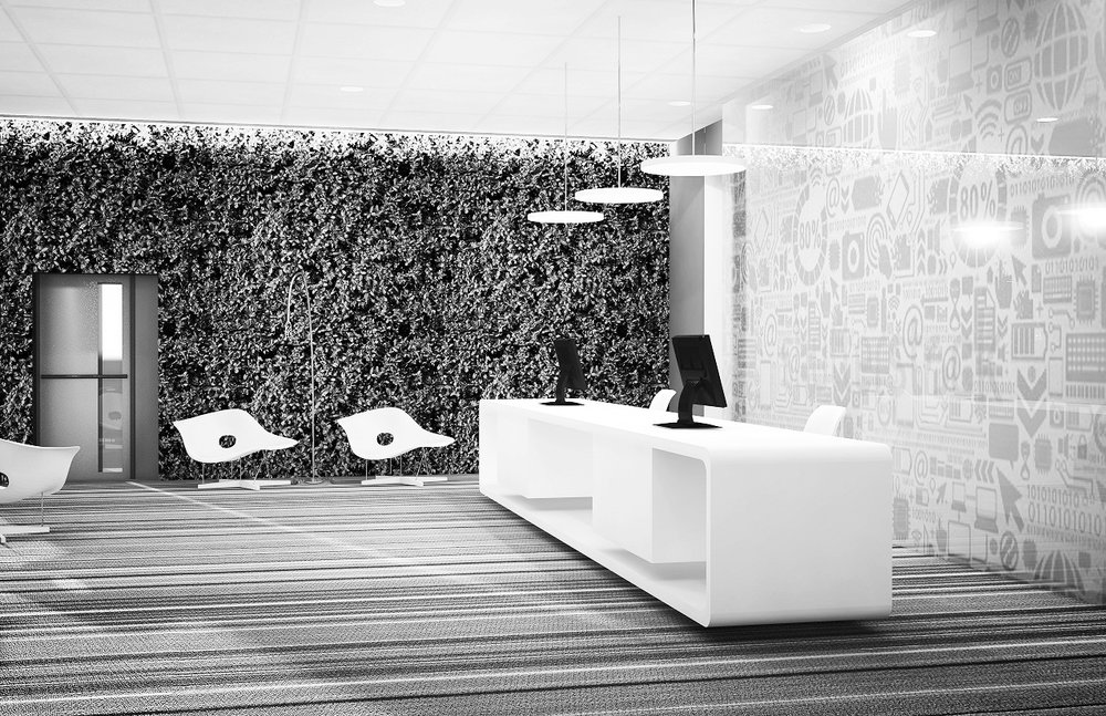 tech Office - Interior Renderings. More..