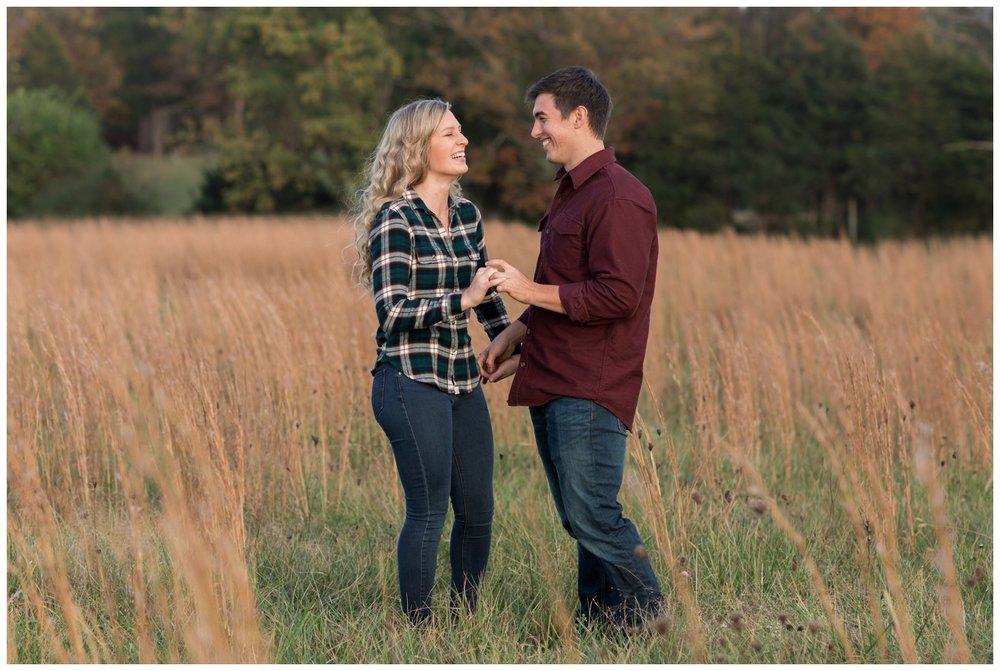 Cross Keys Vineyards Engagement Pictures