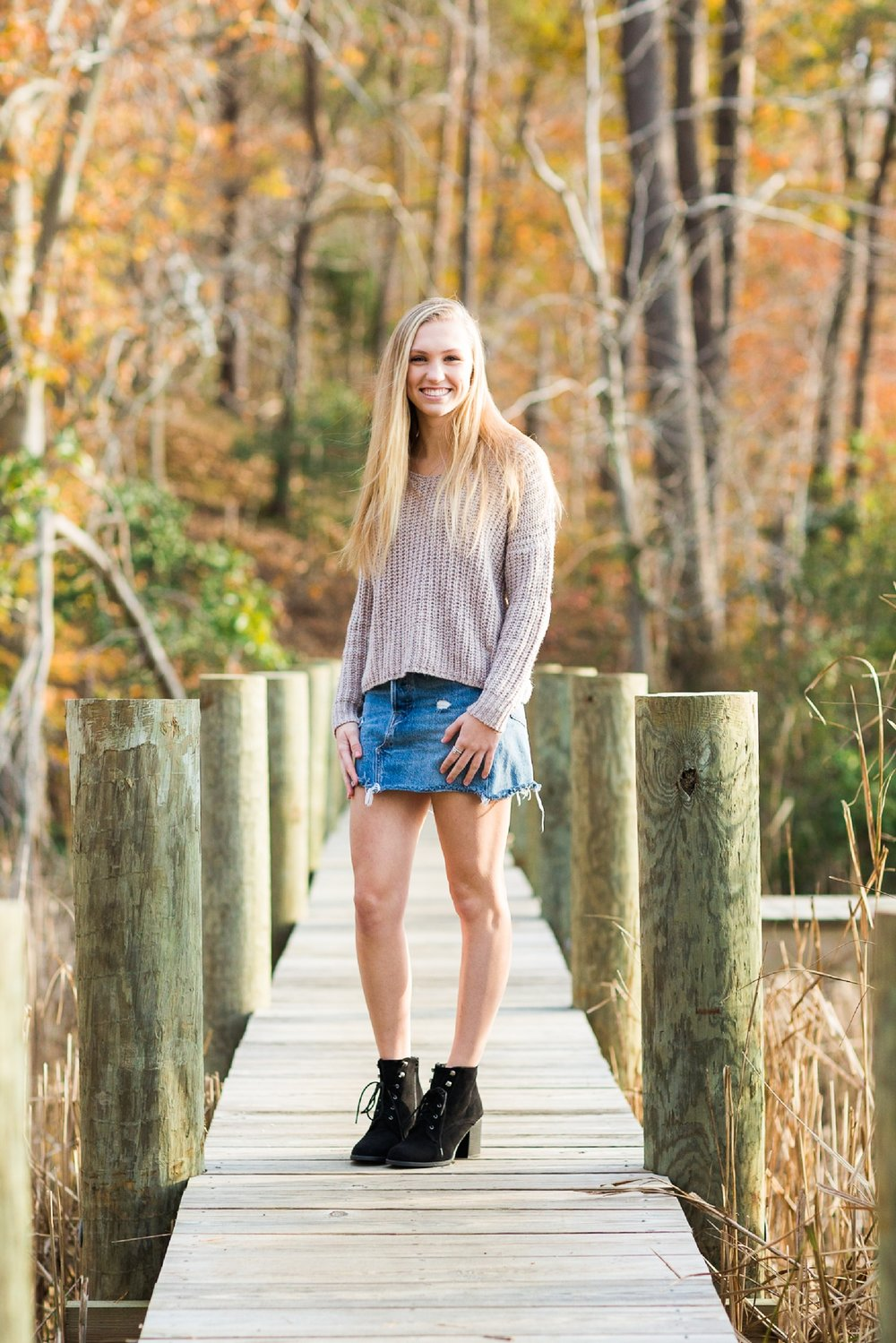 Waynesboro VA high school senior photographer