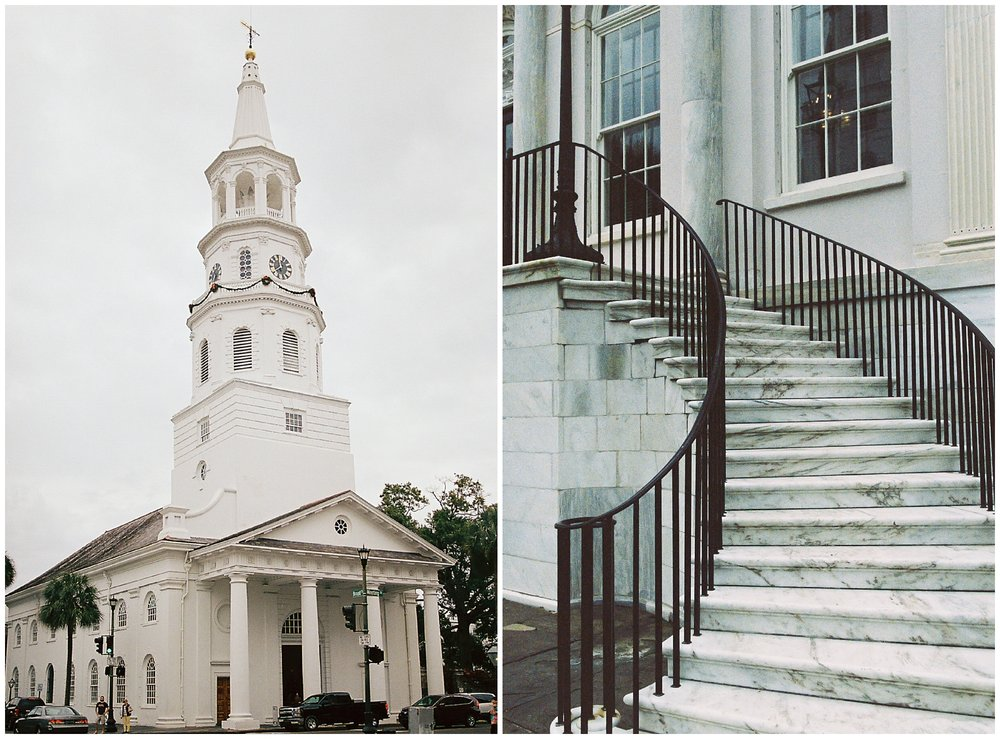 Charleston, SC on film photography from Charlottesville Virginia wedding photographer Hannah Joy Photography