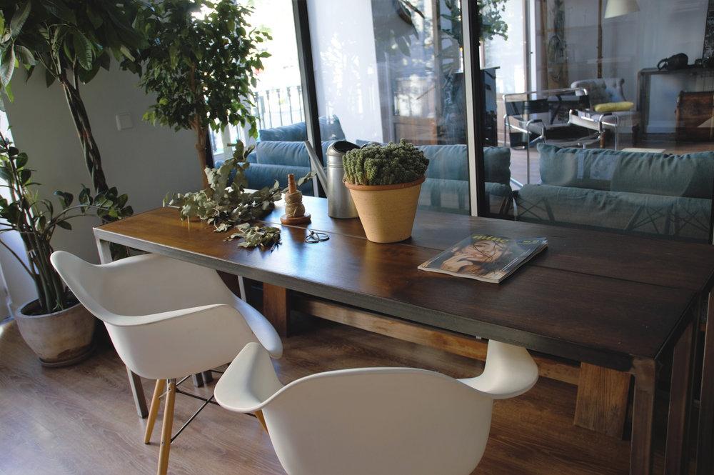 Mesa reunión Invernadero