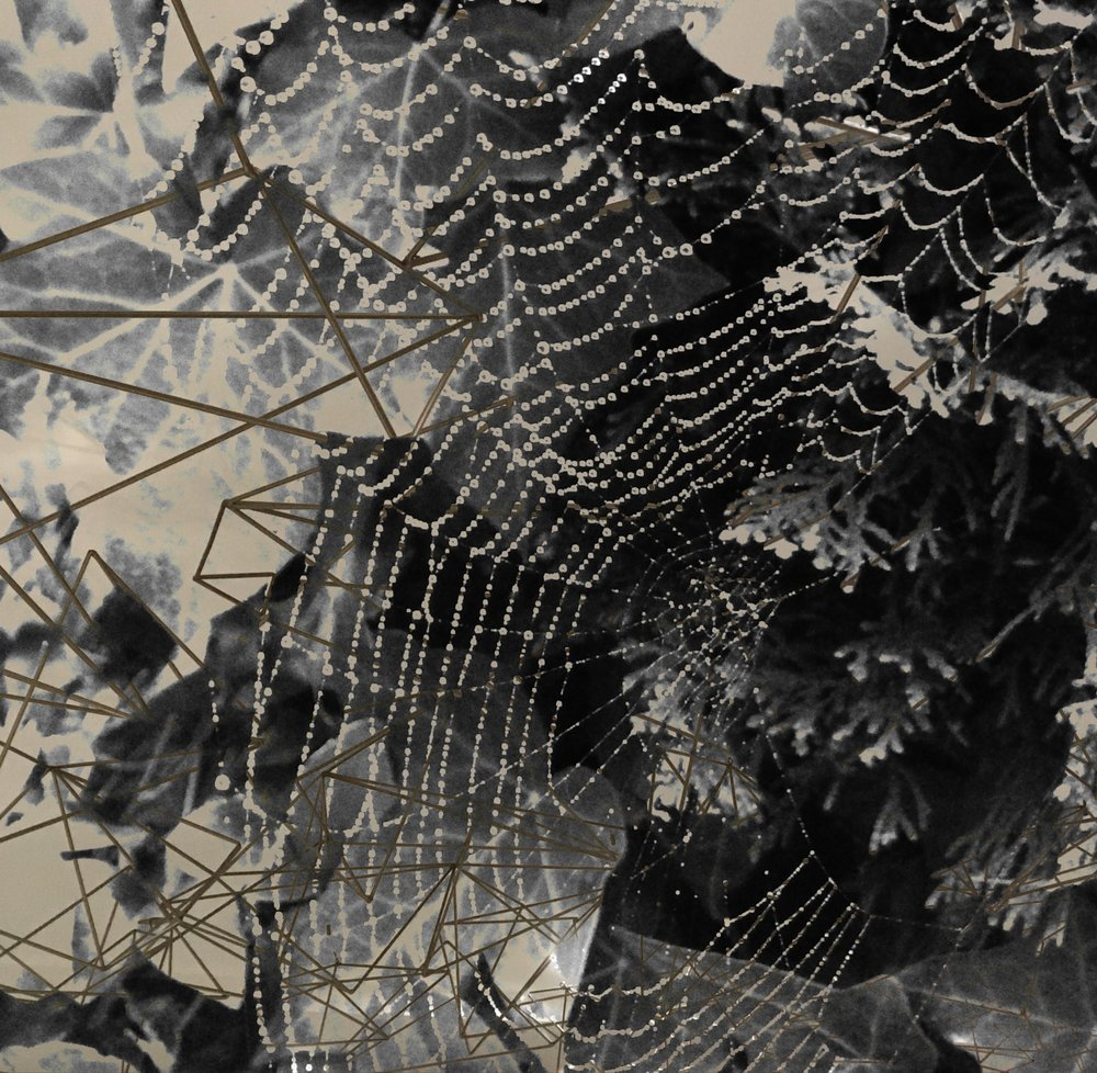 spider web and metal sculpture.jpg