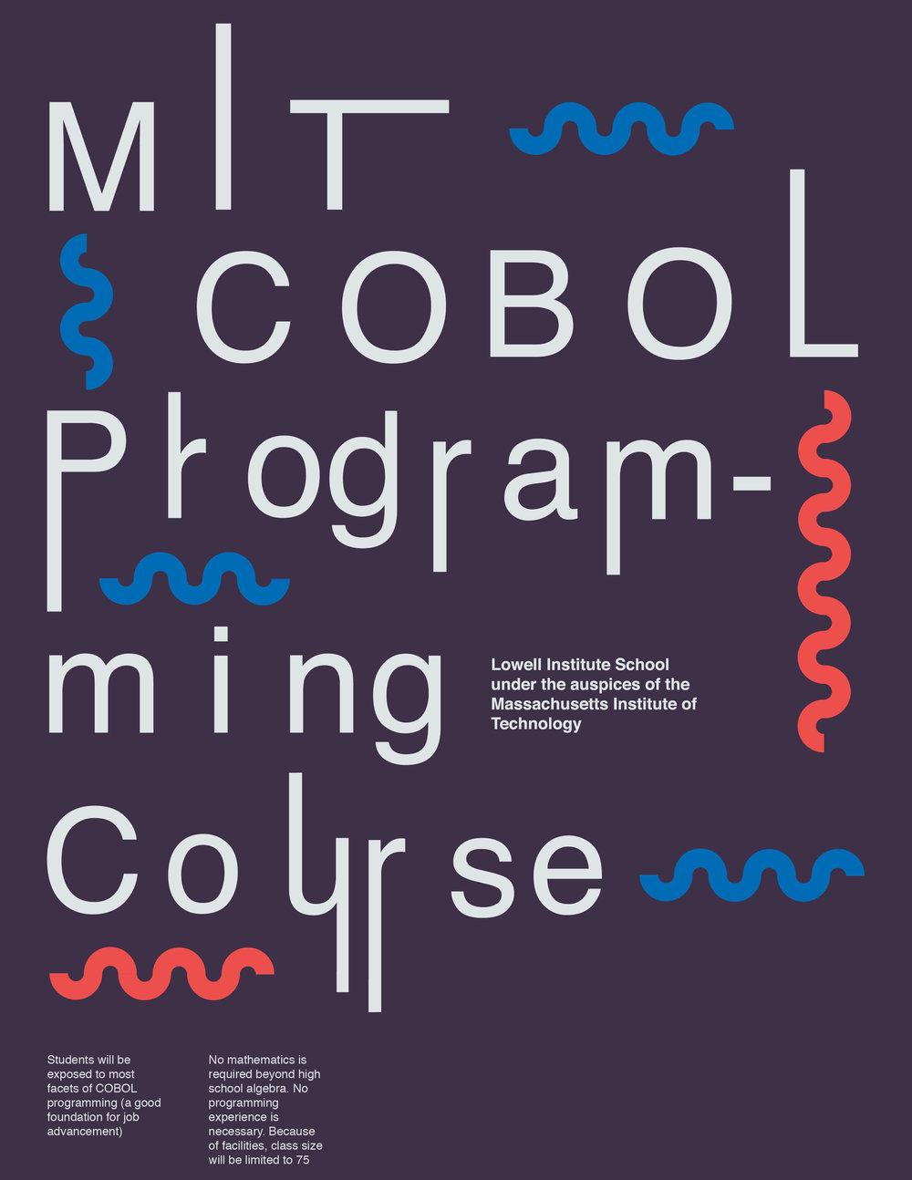 cobol posters grace colbert design