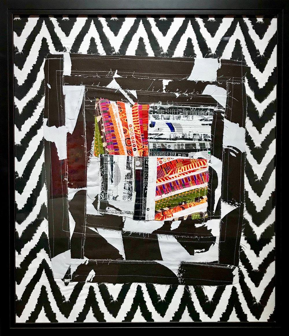 Zebra (framed)
