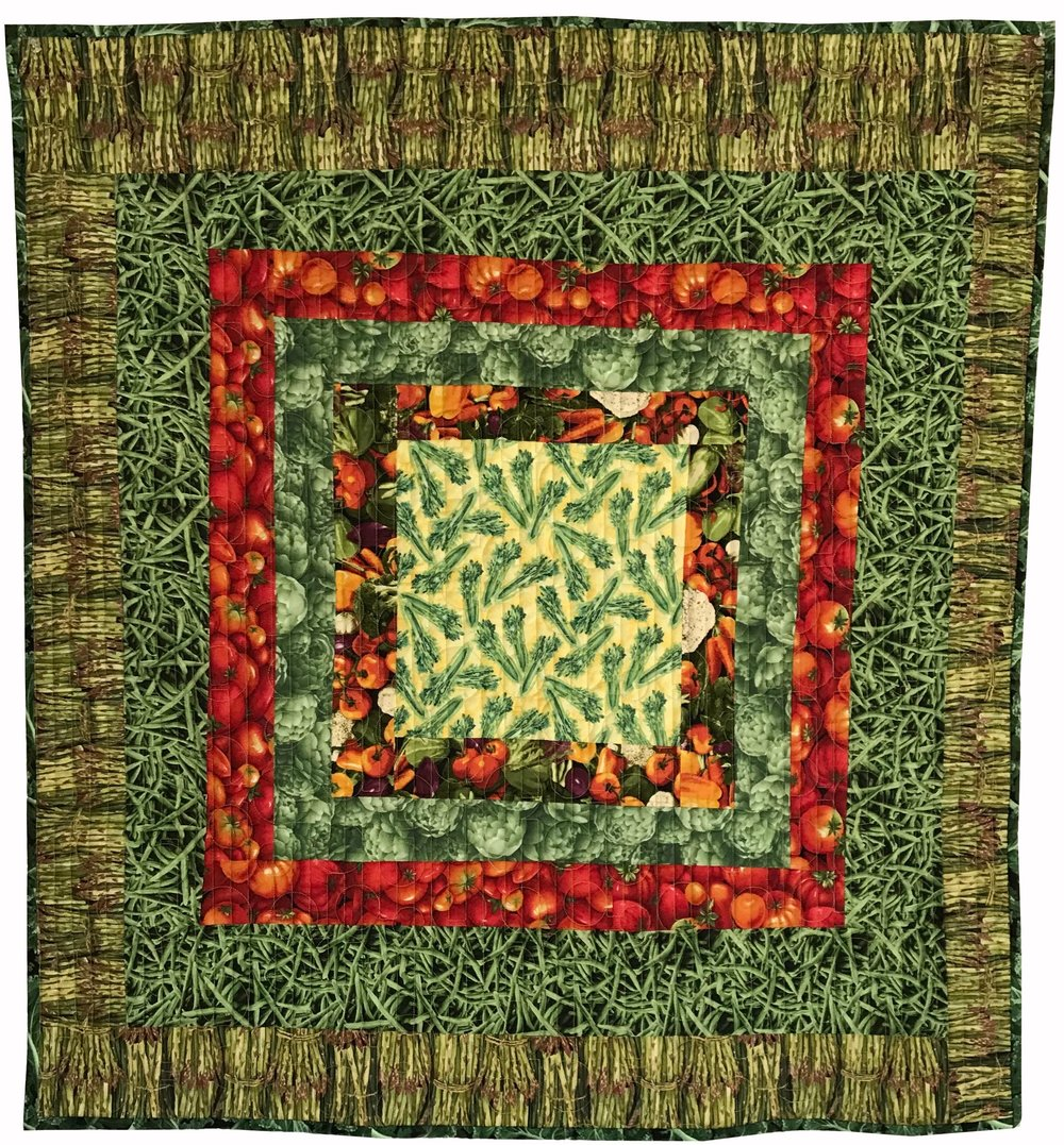 Quilt 87 Veg Collage