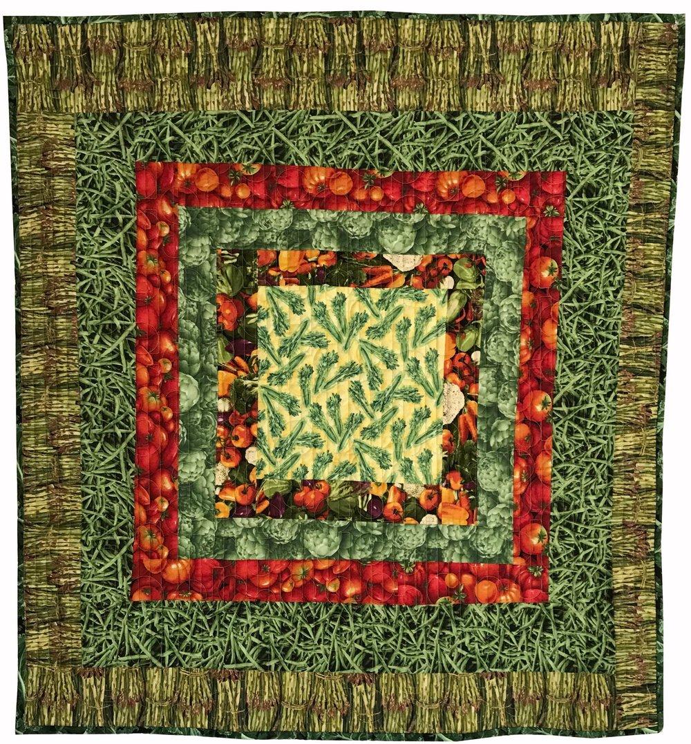 Quilt 87 Veg Collage