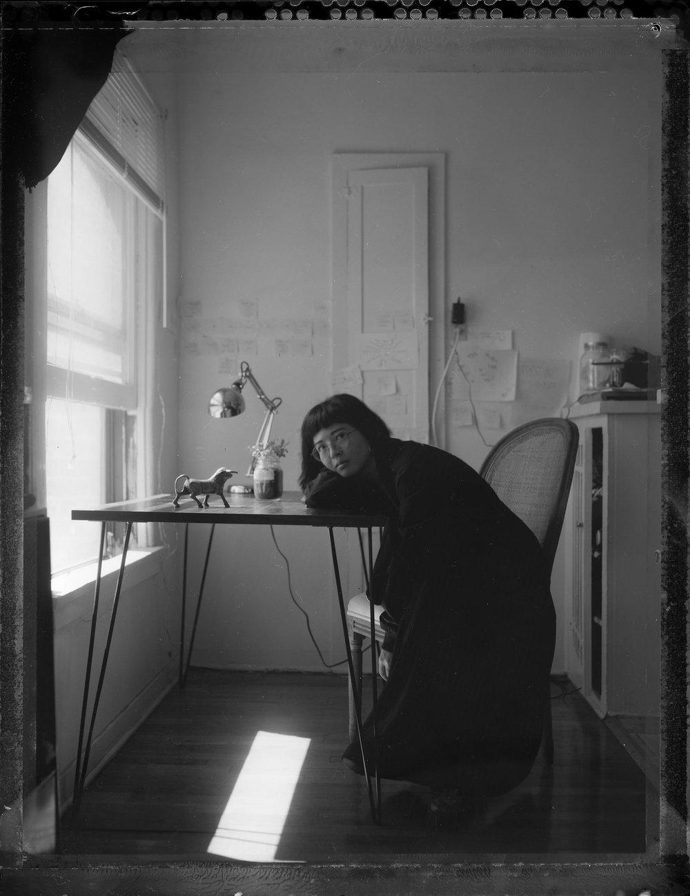 Yumiko Fujiwara_story editor.JPG