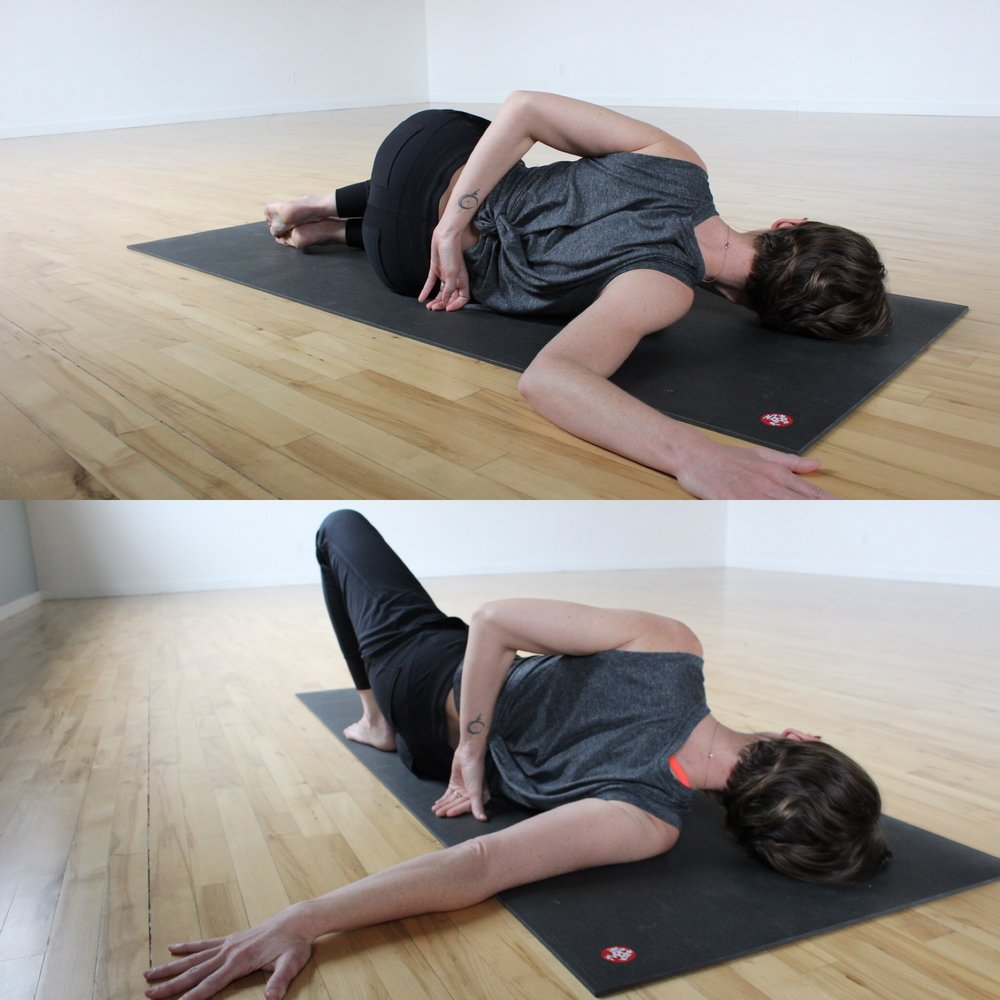 6 Yin Poses And Myofascial Release Techniques That Free Tension In