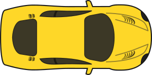 SimpleYellowCarTopView.png