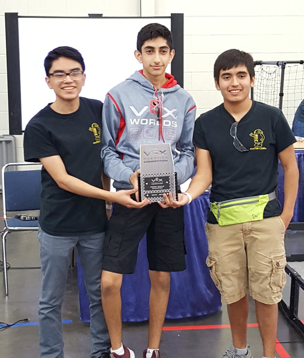 Robot Skills Winner: 2158R