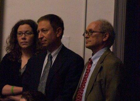 Left: Alyssa Knapp Center: Dr. Richard Horowitz Right: Dr. Steven Bock