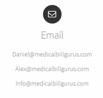 Medical Bill Gurus - Email
