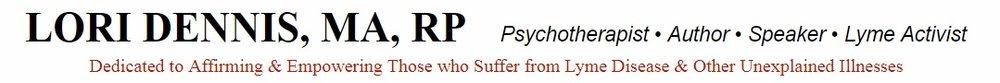 Lori Dennis Lyme Literate Psychotherapist - Lyme Advise