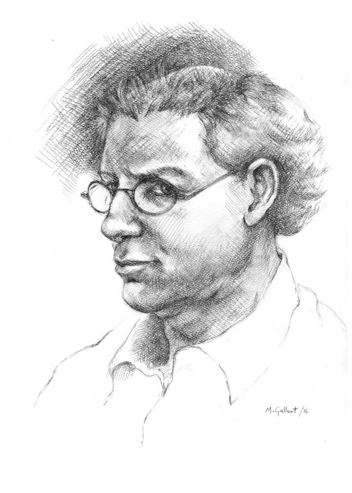 Author portrait by Michael Gallant