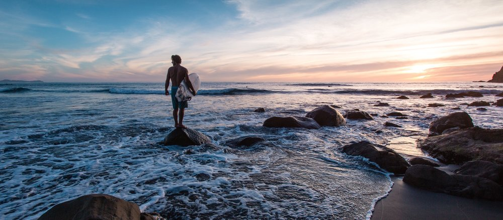 Beginner's surfing guide -
