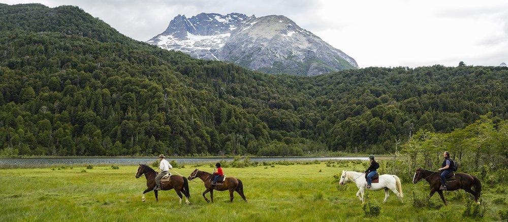 Horseback riding adventures -