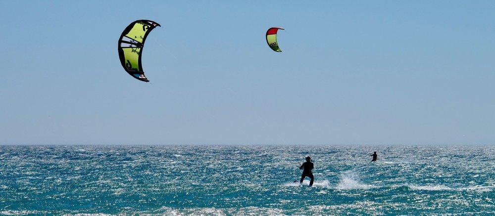 Beginner's kitesurfing guide -