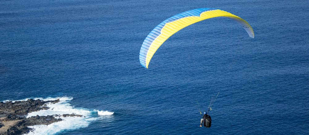 Experience paragliding -