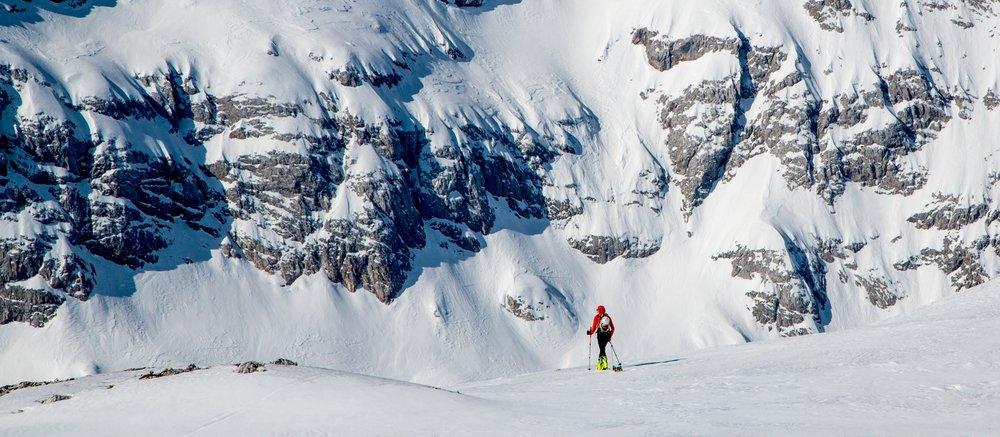 How to start ski touring -
