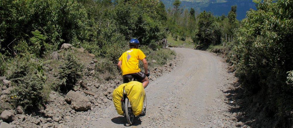 Adventure cycling -
