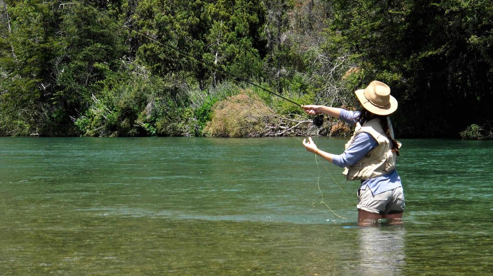 It is the act of tricking the trout that it is actually about to eat a fly. All actions an angler performs, are focused towards achieving this single goal. -