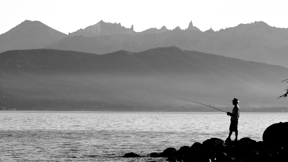 """""""We are not fishermen, we are hunters"""" - Richard Ameijeiras, well known fly fishing guide based in Patagonia (Bariloche, Argentina)."""
