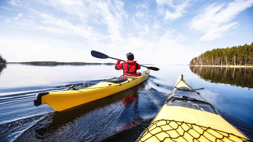 # kayaking - Our kayaking cheat sheet, making your way to paddle-touring, easy!