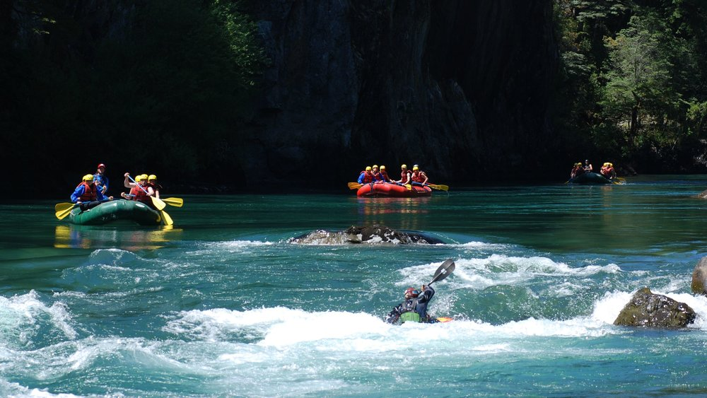 River rafting is a fantastic activity for the whole family, a chance to see a region's beautiful countryside whilst cascading down one of its rivers! -