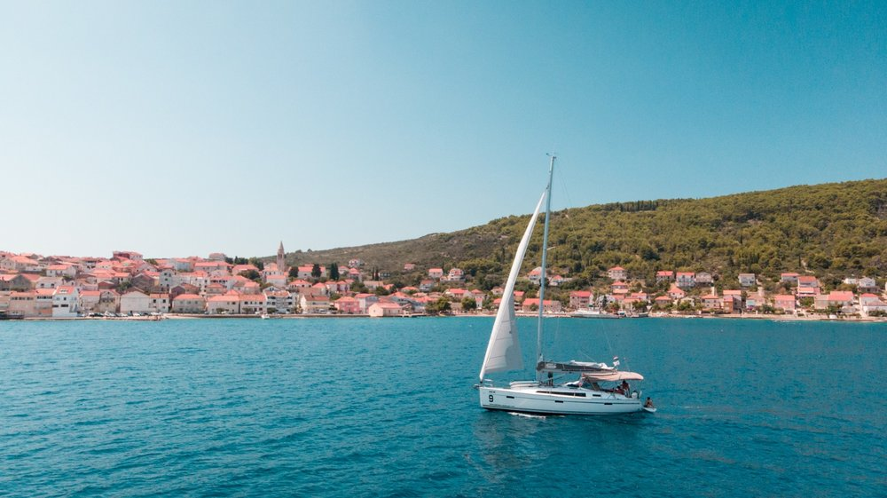 Starting the yacht week in Croatia