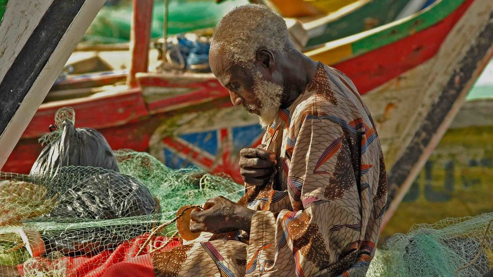 Ghana has a strong culture around fishing