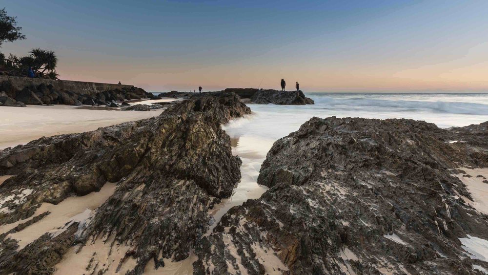 Snapper rocks, Gold Coast, Australia