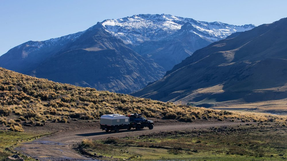 A family of three, traveling 35,000 km in South America -