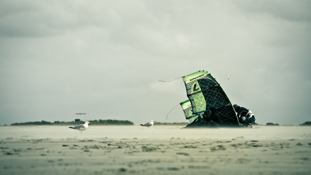"""""""I saw a guy get a jump on a kite and stayed in the air way longer than any windsurfer stayed. I said, Ok, now, this looks interesting to me"""" - Pete Cabrinha - Professional water sports athlete and founder of Cabrinha Kites"""