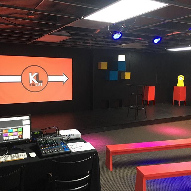 Exciting day today at Family Life as our kids occupy their brand new Kids Center! We'd love to see you and the family at the 10:45am Gathering.