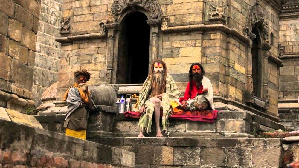 Sadhus of Pashupathinath