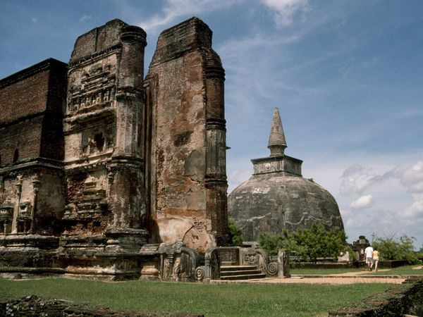 the ancient city of ANARADHAPURA awaits