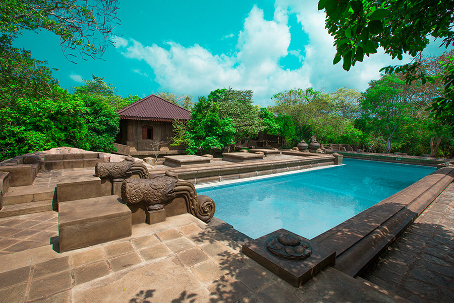The Forest Rock Garden Mirrors the Ancient atmosphere of Anaradhapura