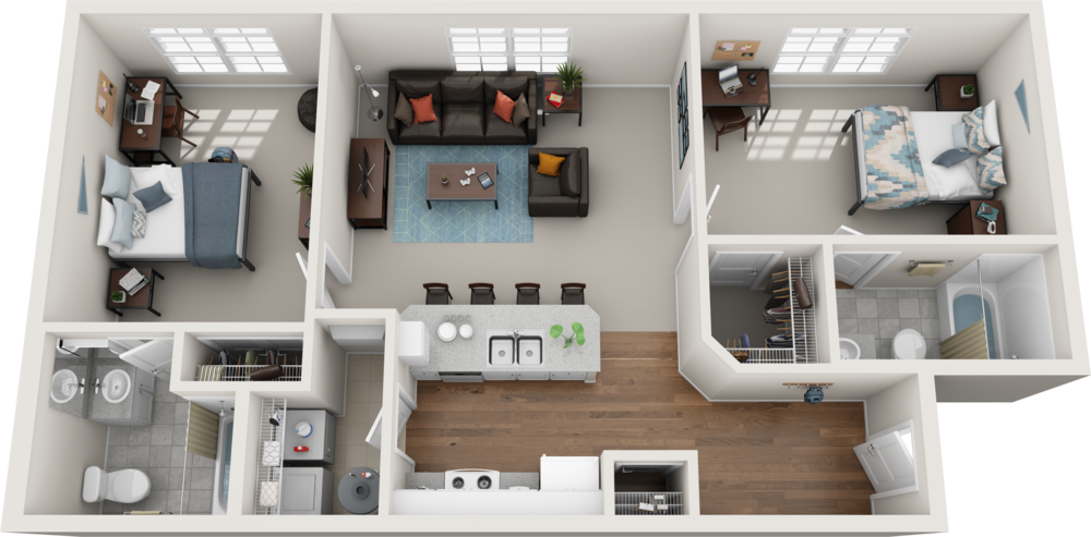 COMPARE FLOOR PLANS