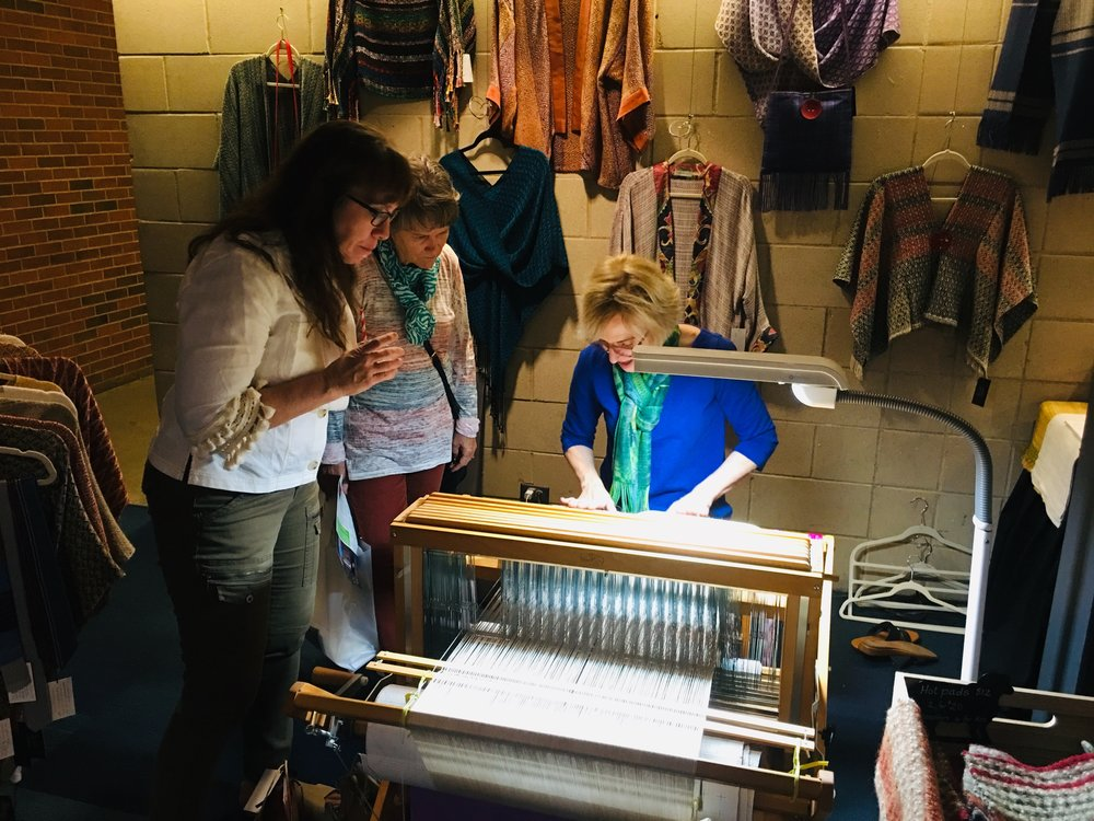 learn, shop, repeat - Tissé Designs offers weaving and fiber arts workshops, private lessons, and items for sale at various markets in the Dallas Fort Worth Metroplex. Contact Anne if you are interested in scheduling a trunk show, demonstration, or workshop with your group.