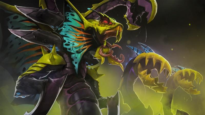 Venomancer Acid Hydra Dota 2