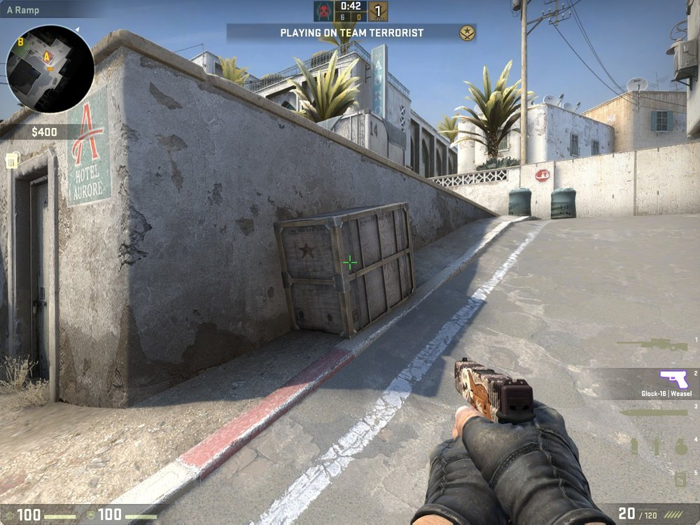 The box on ramp is smaller so you can't hide behind it anymore - Image: u/UsernameReIevant