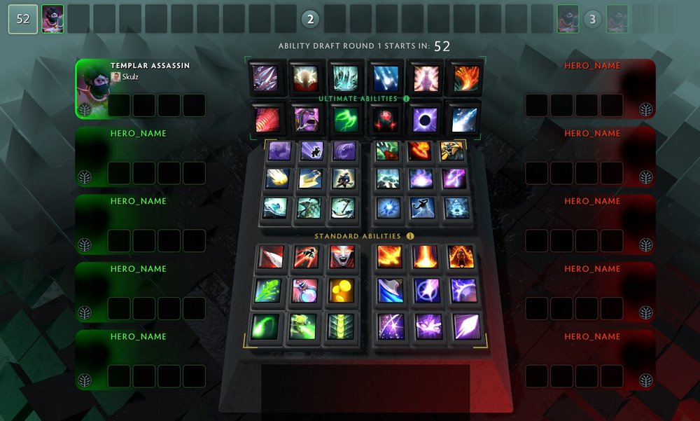 Ability Draft new interface