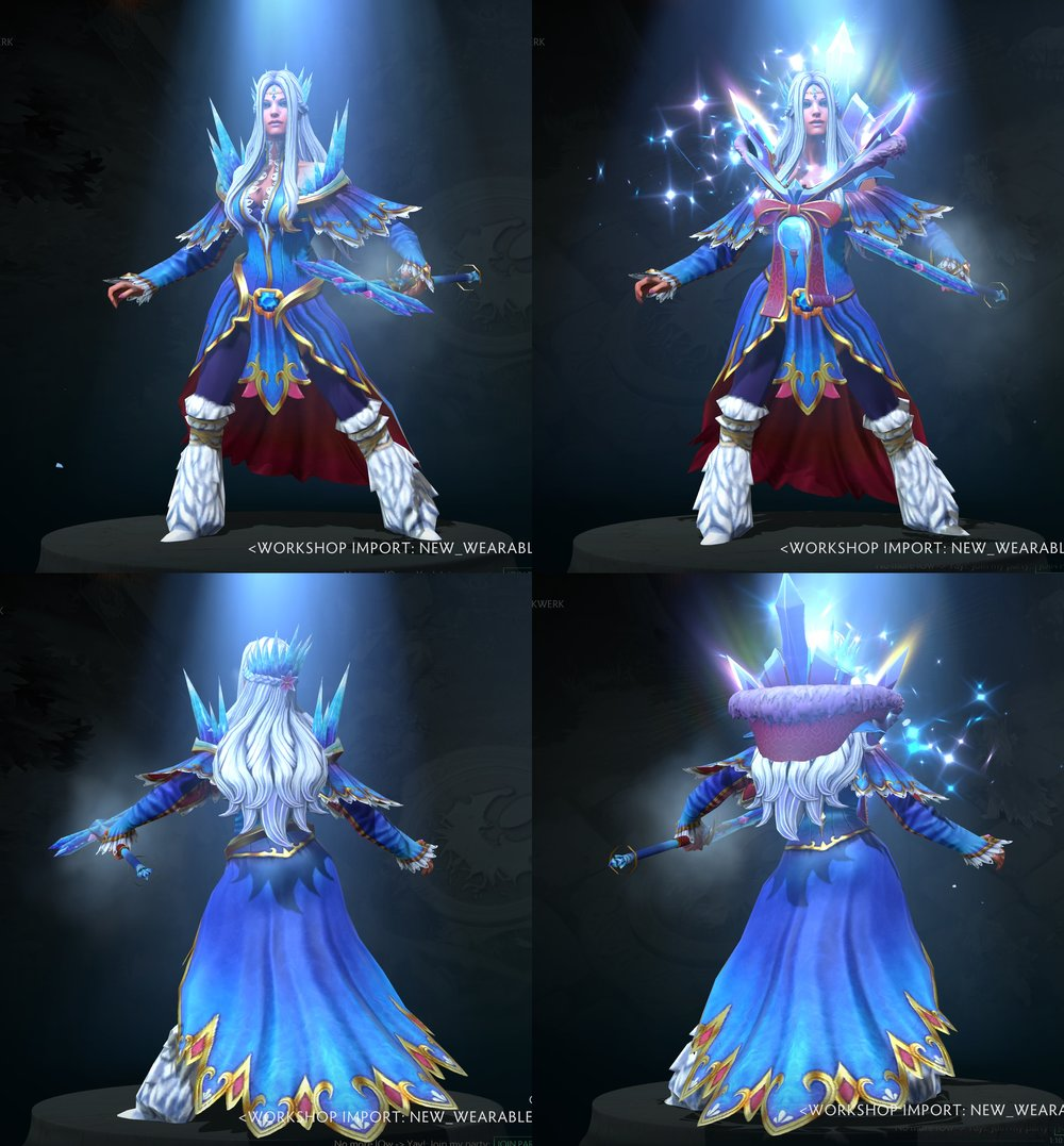 The Winter Monarch set Frostivus 2017 Dota 2.jpg