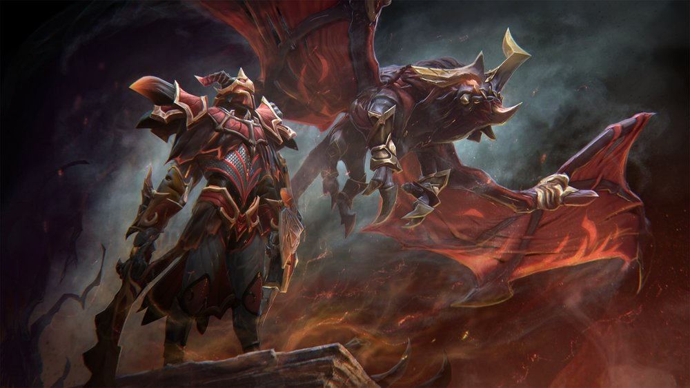 Blazing Oblivion for Dragon Knight - Image: Valve