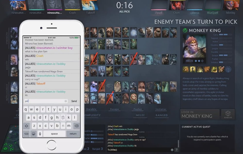 the best dota 2 mobile apps for android and ios esports tales