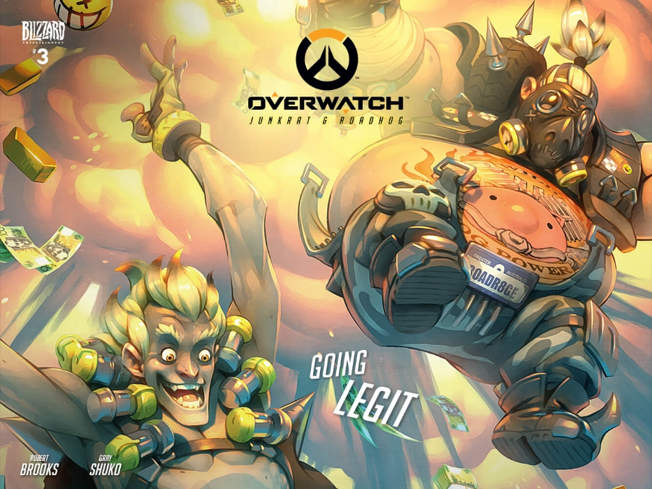 Junkrat and Roadhog Going Legit web comic