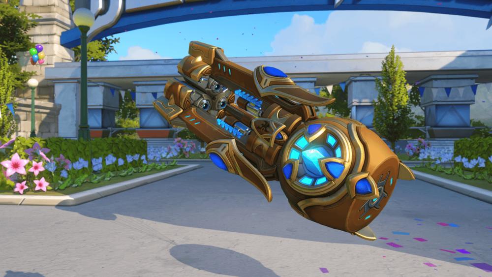 Orisa Immortal gun Blizzard World Overwatch.png