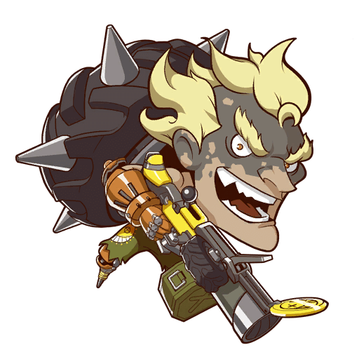 Spray Junkrat Cute.png