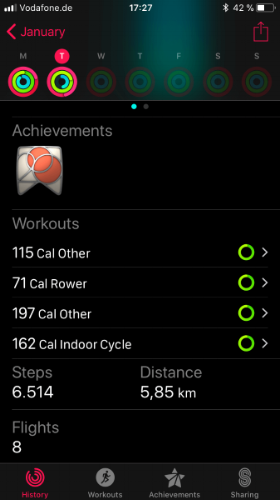 Apple Watch S3 Nike+ monthly achievements.JPG
